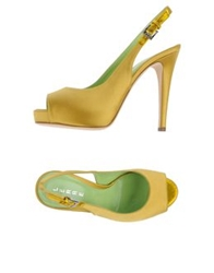 Lerre Platform Sandals Gold