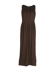 Alpha Massimo Rebecchi Long Dresses Black