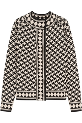 Temperley London Empire Jacquard Knit Merino Wool Jacket