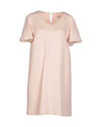 Chlotilde Short Dresses Light Pink