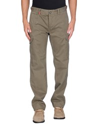 Replay Trousers Casual Trousers Men Military Green