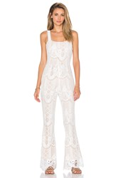Endless Rose Rousseau Romper White