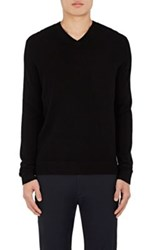 Theory Men's Donners V Cashmere Sweater Black