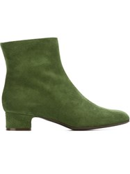 P.A.R.O.S.H. Low Chunky Heel Ankle Boots
