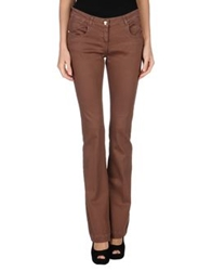 Blugirl Folies Denim Pants Brown