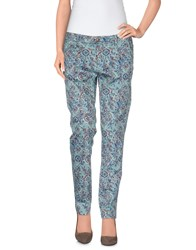 San Francisco Trousers Casual Trousers Women Turquoise