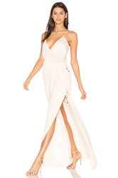 The Jetset Diaries Cruise Maxi Dress Beige