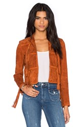 Rachel Zoe Honor Jacket Rust