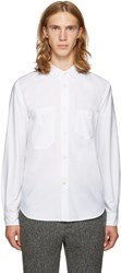 Junya Watanabe Reversible White Pocket Shirt