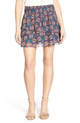 Chelsea 28 Women's Chelsea28 Double Layer Miniskirt