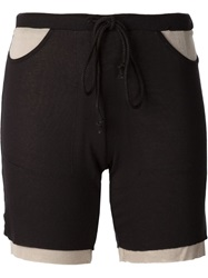 Lost And Found Rooms Layered Shorts Black
