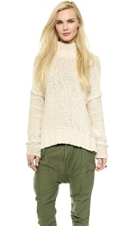 Free People Long Summer Sweater Cream