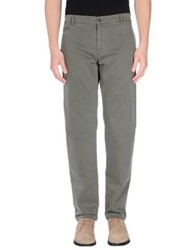 Msgm Casual Pants Military Green