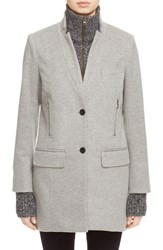 Veronica Beard Women's Car Coat With Removable 'Uptown' Dickey