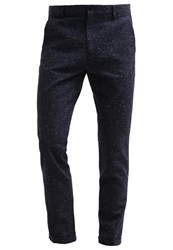 Pier One Chinos Navy Dark Blue