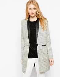 Vila Longline Tailored Blazer Birch