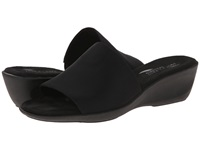 Aerosoles Badminton Black Elastic Women's Slide Shoes