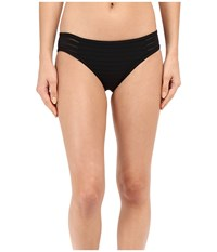 Jets By Jessika Allen Parallels Hipster Bikini Bottom Black Women's Swimwear