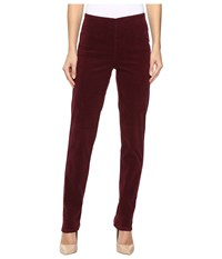 Fdj French Dressing Jeans Plush Cord Pull On Super Jegging In Cabernet Cabernet Women's Burgundy