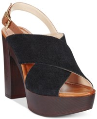 Inc International Concepts Cyleb Platform Sandals Only At Macy's Women's Shoes