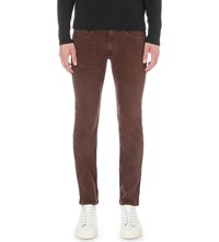 Replay Anbass Slim Fit Skinny Jeans Red