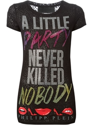 Philipp Plein 'Little Party' T Shirt Black