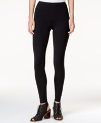 Kensie Knit Leggings Black
