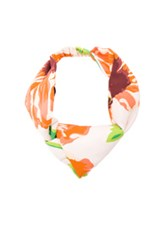 Stella Mccartney Hair Band In Floral Pink