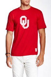 Original Retro Brand Oklahoma University Tee Red