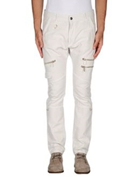 Galliano Casual Pants Ivory