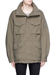 Attachment Oversized M65 Field Coat Green