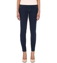 Ted Baker Dariaa Stretch Denim Skinny Jeans Mid Wash