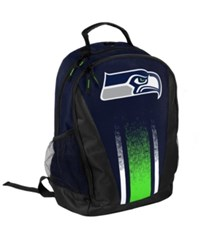 Forever Collectibles Seattle Seahawks Prime Time Backpack Navy