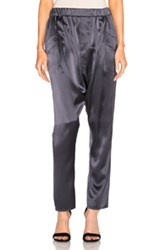 Baja East Harem Pants In Gray