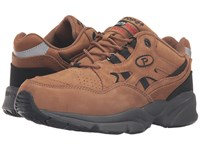 Propet Stability Walker Medicare Hcpcs Code A5500 Diabetic Shoe Chocolate Brown Nubuck Men's Walking Shoes