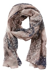 Betty Barclay Long Snake Print Scarf Beige