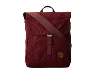 Fj Llr Ven Foldsack No. 3 Dark Garnet Backpack Bags Tan