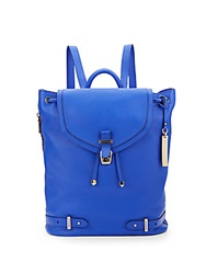 Vince Camuto Robyn Leather Backpack Blue