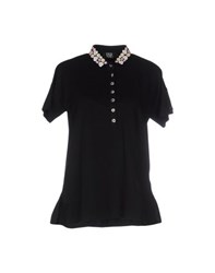 Vdp Collection Topwear Polo Shirts Women Black