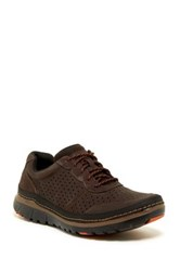 Rockport Perforated Mudguard Sneaker Wide Width Available Brown