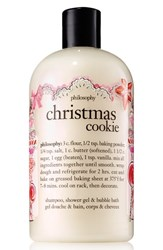 Philosophy 'Christmas Cookie' Shampoo Shower Gel And Bubble Bath