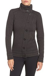 The North Face Women's 'Crescent Sunset' Full Zip Jacket Tnf Black Heather