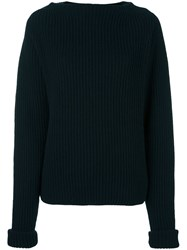 Forte Forte Ribbed Jumper Blue