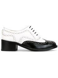 Each X Other Contrast Brogues White