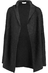 Joie Hadwyn Knitted Hooded Cardigan Black
