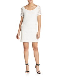 S.H.E Soul Harmony Energy Crochet Lace Dress Ivory Lace