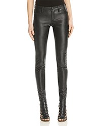 Blank Nyc Blanknyc Faux Leather Skinny Pants Blacked Out