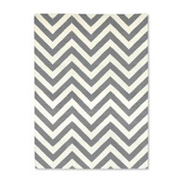 Jonathan Adler Herringbone Rug Grey Natural 4'X6'