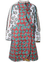 Tsumori Chisato Quilted Reversible Coat Multicolour