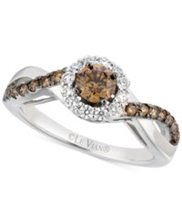 Le Vian Bridal Diamond Engagement Ring 1 Ct. T.W. In 14K White Gold